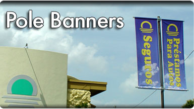 Pole Banners in Houston
